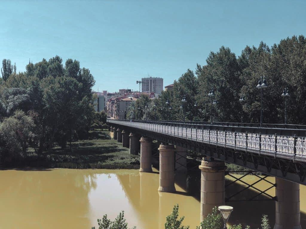 Logrono - capital of La Rioja in Spain