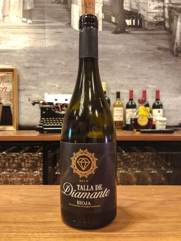 wine in logrono