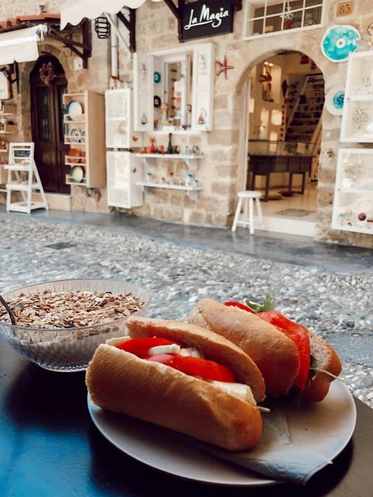 breakfast in Greece