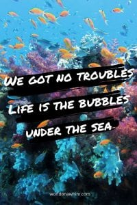 under the sea quotes
