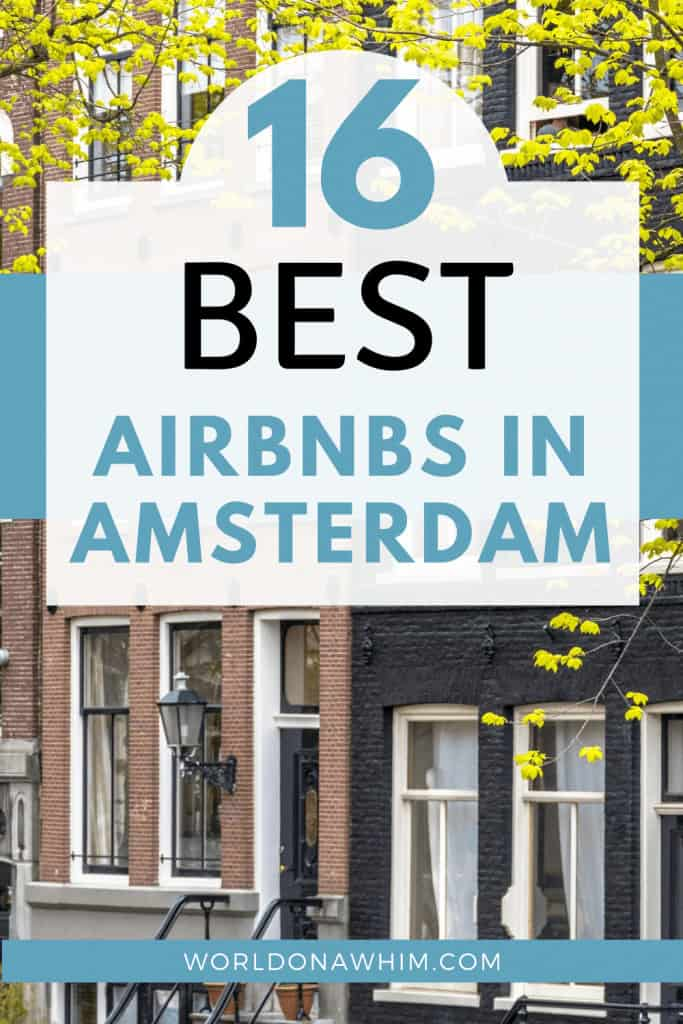 Amsterdam Airbnbs