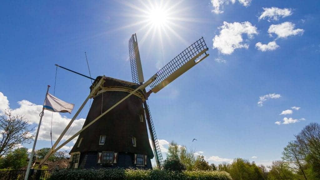 Amsterdam windmill