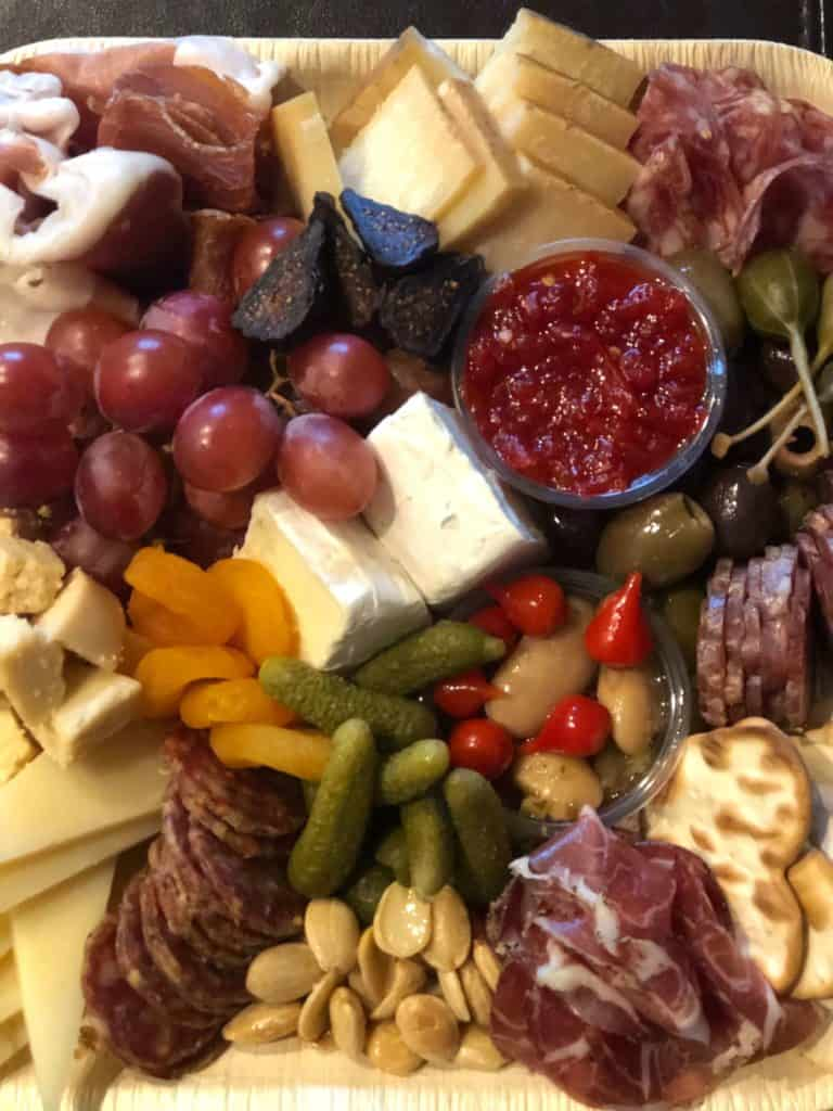 Charcuterie Board from On the Mark Palm Springs
