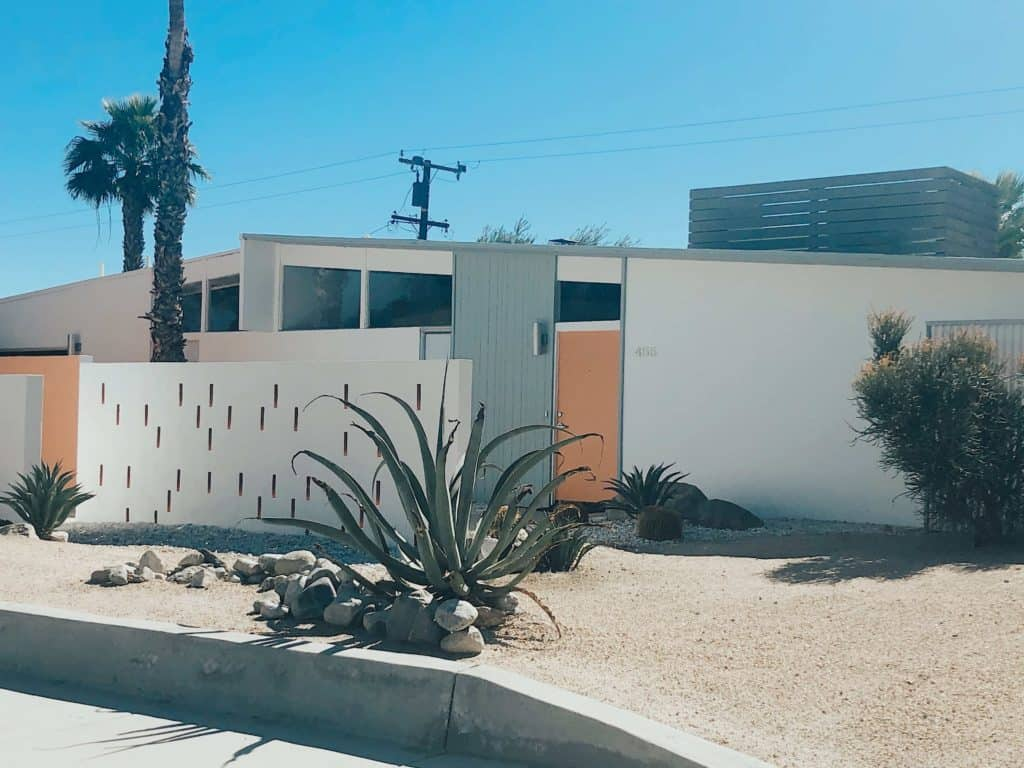 mid century modern architecture tour Palm Springs