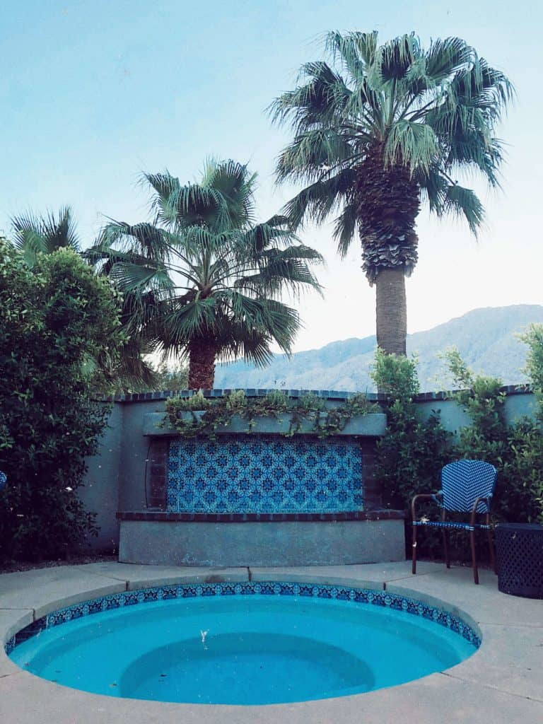 airbnb jacuzzi for Palm Springs getaway