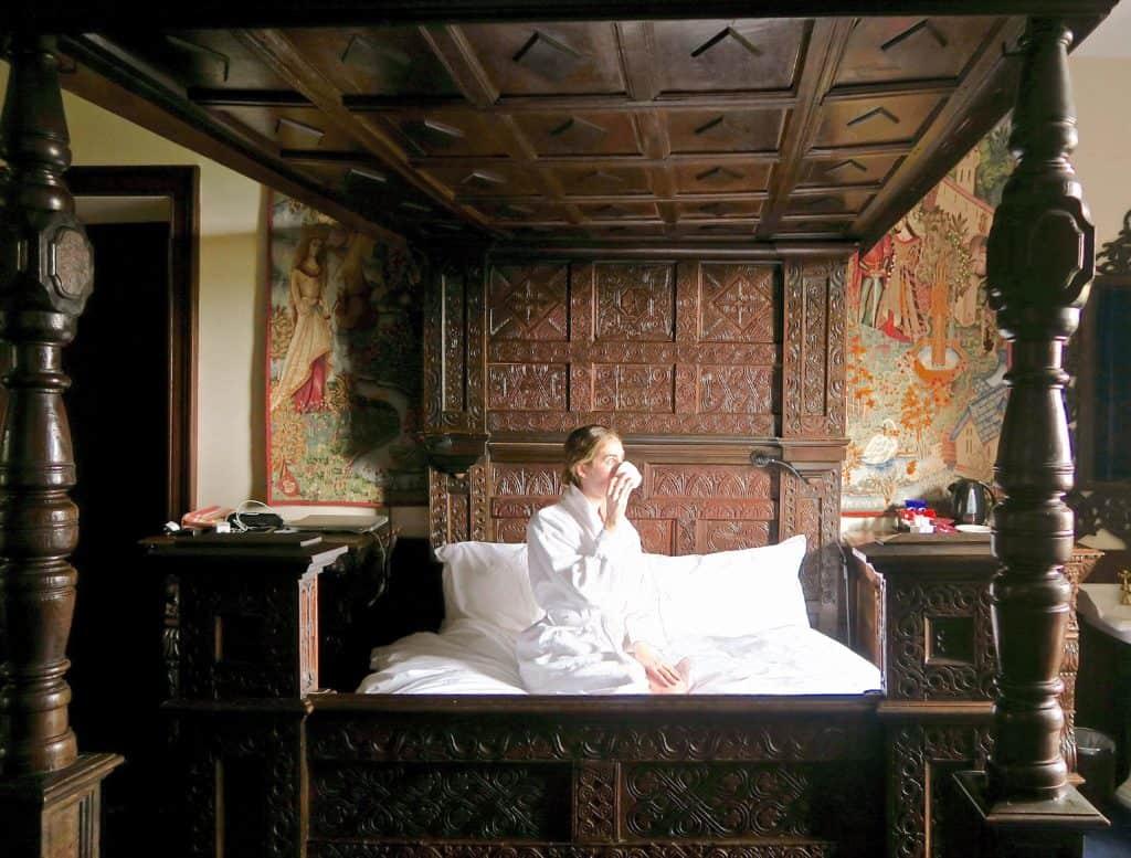 Appleby Castle Bedroom