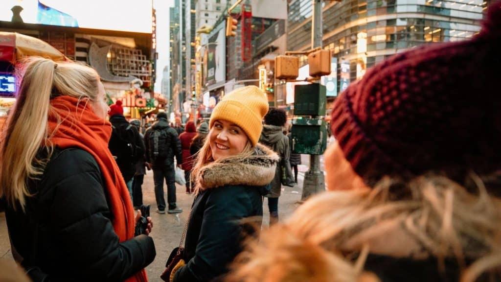 girls trip to New York city