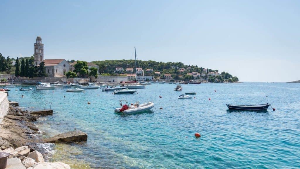 yachts in Croatia