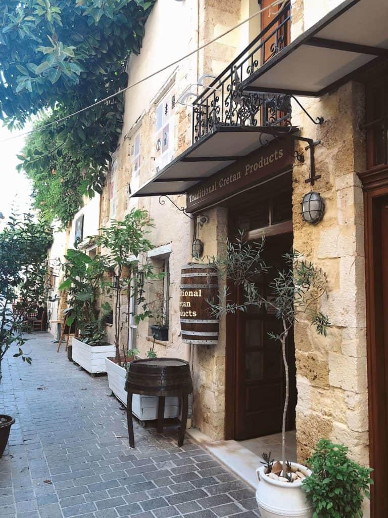 Crete Greece streets