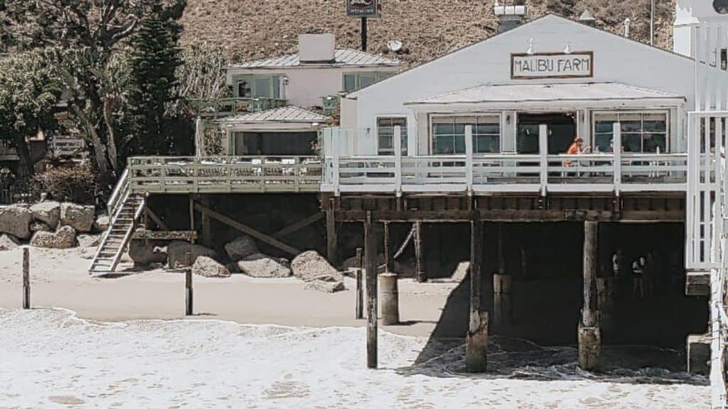 Malibu farm on Malibu pier in Los Angeles