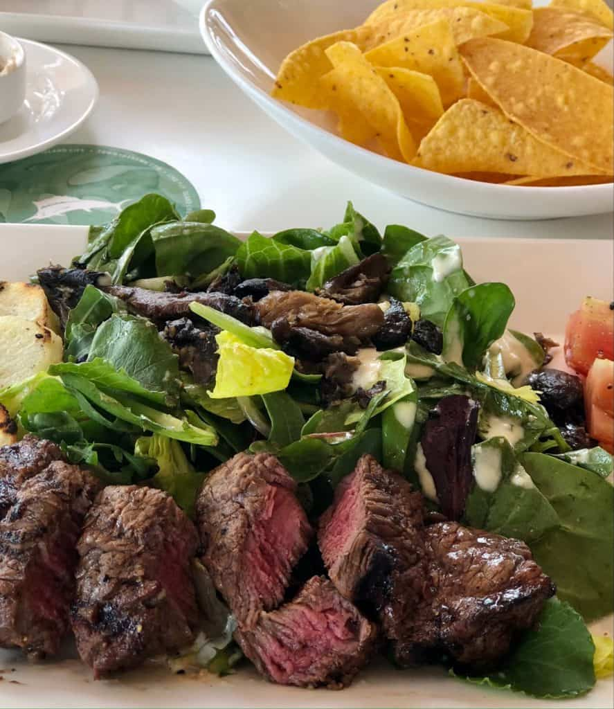 tommy bahama filet salad