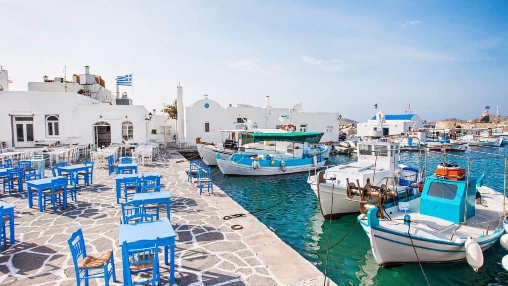 Naoussa paros greece