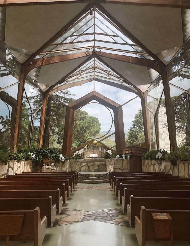 Wayfarers Chapel in Rancho Palos Verdes