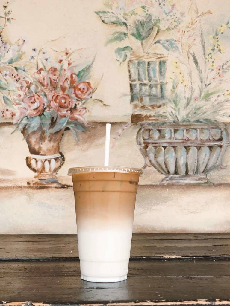 Yellow Vase Spanish Latte