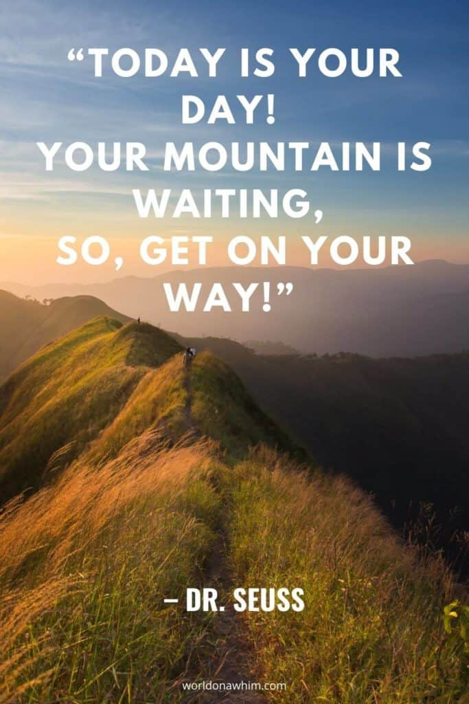 quotes about the mountains