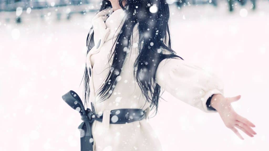 woman winter outfit